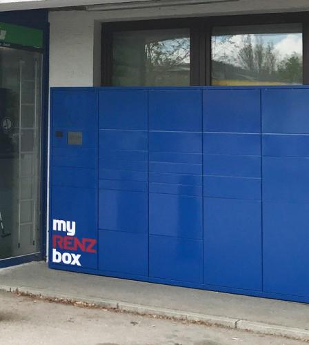myRENZbox pakkepostanlæg til click&collect
