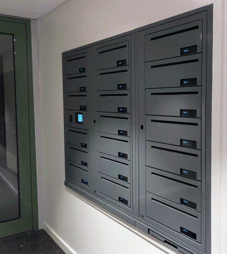 Renz e-Line elektronisk fastighetsbox