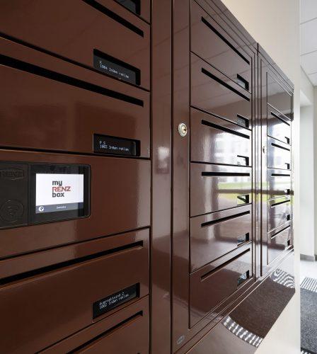 Renz e-Line elektroniska fastighetsbox